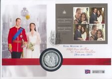 GROSSBRITANNIEN GB - 2011 BLOCK 66 HOCHZEIT WILLIAM NUMISBRIEF COIN COVER FDC