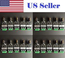 20 PCs Mini DC 6V/12V/24V/28V 3A PWM Motor Speed Regulator Controller Switch