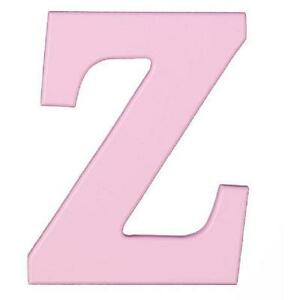 Kidkraft Wooden MDF Wall Hanging Letter 8 Inch High x .6 Thick Pink
