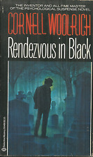 RENDEZVOUS IN BLACK  Cornell Woolrich - 1ST 1982 BALLANTINE - VERY FINE PLUS