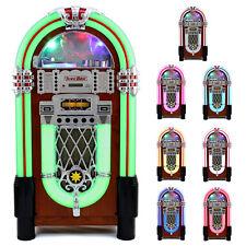 Jukebox Vintage 1950s Retro Stereo CD Player FM Radio Aux USB Machine A3109*