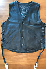 Harley Davidson Vest Medium Custom Collection Limited Edition 1 Out Of 150 New