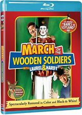 MARCH OF THE WOODEN SOLDIERS (Laurel & Hardy) -  Blu Ray - Sealed Region free