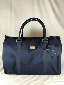 NEW Lacoste Navy Blue Weekend / Travel / Gym / Holdall / Duffle Bag
