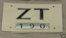 MG ZT 190 REAR BADGE, BLACK FINISH (DAT000120PMA)