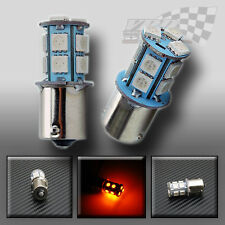 x2 BAU15S 1156 245 bulb lamp 13-5050SMD 12V amber indicator turn signal light