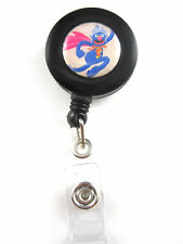Super Grover Retractable ID Badge/Key Ring Holder