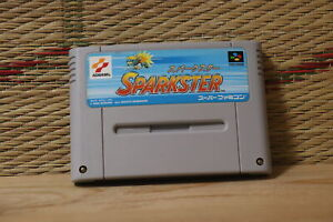 Sparkster Nintendo Super Famicom SFC Very Good+ Condition!