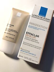 New Sealed La Roche-Posay Effaclar BB Blur Fair Light Shade 1.01oz Exp 04/2021
