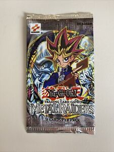 Yu Gi Oh 1st Edition Metal Raiders Booster Pack Factory Sealed MRD