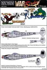 Kits World Decals 1/72 LOCKHEED P-38 LIGHTNING Little Buckaroo & Gung Ho