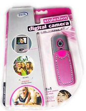 Digital Concepts Pink Styleshot Digital Camera 2 In 1 With PhoTags Express Bling