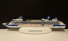 "Celebrity Cruises Summit Ships Model 2001 Celebrity Cruises Resin 10"" NEW IN BOX"