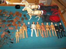 Vintage Marx Johnny West Best Of The West Collection, Wagons,Horses, Figures