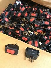 Box Of 1000pcs Carling Technologies Switch Rocker Spst 16a 250v Red Resale