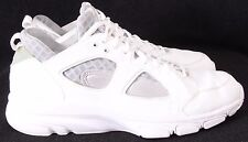 Nike 442243-111 Zoom Huarache Low White Athletic Training Sneakers Men's US 11