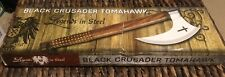 Black crusader Tomahawk Legends In Steel 15 1/2 Inches