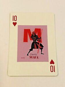 2020 Star Wars Celebration Art Series Playing Card by Shag - Darth Maul