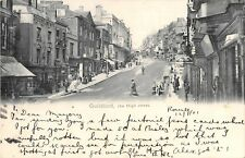 POSTCARD    SURREY   GUILDFORD   The  High  Street   ( Early  Posting  )