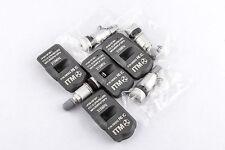 Set 4 TPMS Tire Pressure Sensors 315Mhz Metal for 2011 Lincoln MKT