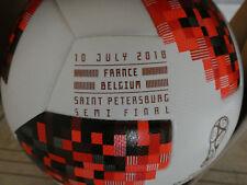 France-bélgica 1/2 Finale adidas Mechta meyta Telstar WM 2018 match ball inprint