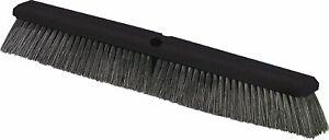 "Carlisle Flo-Pac Plastic Block Sweep Polypropylene Bristles 24"" Length, Black"