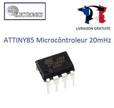ATTINY85 MICROCONTROLEUR ATTINY85-20PU FLASH 20MHZ