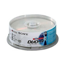 25 Sony DVD + R 4.7 GB (16x) 120 min DVD recordable disco del huso