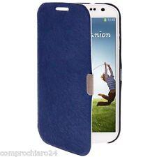 Custodia Originale Blu a Portafoglio per Samsung Galaxy S4 IV i9500 - Flip Cover