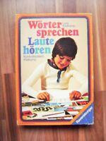 @ Ravensburger @ Wörter sprechen - Laute hören ab 7 und für Leseförderung 1978
