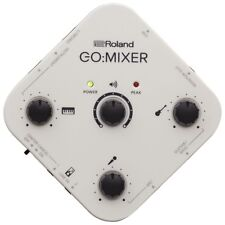 Roland GO:MIXER Audio Mixer 5-input Recording Interface iOS Android Smartphones