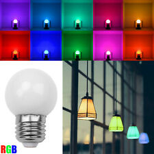 RGB E27 3W LED Night Light Blub Auto Color Change Lamp 110V 220V Party Decor RO