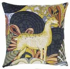 """PSYCHEDEERIC II, 18"""" TAPESTRY CUSHION COVER 5491, 100% COTTON, MADE IN BELGIUM"""