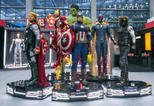 6 Life Size Avengers Infinity War 1:1 Wax Statues Hulk Iron Man Thor Cap America