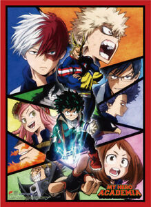 **Legit Poster** My Hero Academia Todoroki Bakugou Storyboard Wallscroll #86931