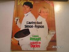 ** Vélo Magazine n°183 L'année Renault / Drame Duclos Lassalle / Dousset