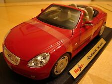 1/18 Lexus SC 430 Convertible Coupe Cherry Red LFA 2000 GT Rare