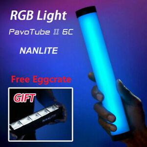 Nanguang Nanlite PavoTube II 6C LED RGB Light Tube Portable Handheld Photography