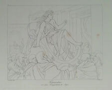 Kassandra 1788, acquaforte di contorno von (H).Merz n.Carstens