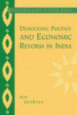 Democratic Politics and Economic Reform in India (Paperback or Softback)