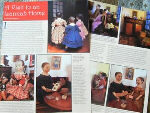6p History Article + Pics - A Visit to the Izannah Walker Doll Home