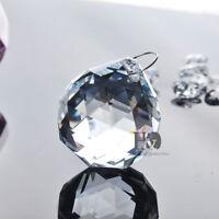Clear Chandelier Crystal Hanging Ball Prism Suncatcher Feng Shui Pendants 30mm