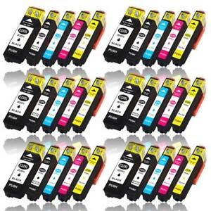 30 Tintenkartuschen für EPSON Expression Premium Drucker XP-830 XP-900 XP-7100