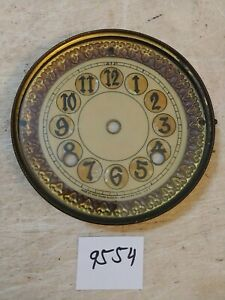 NEW HAVEN  IRON CASE CLOCK DIAL & BEZEL & GLASS
