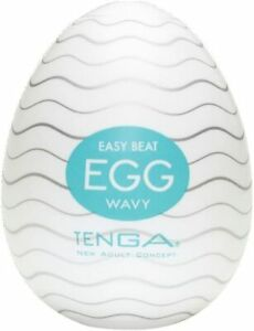 NEW TENGA Egg Wavy - Male Sex Toys - Male masturbator egg