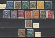 El Salvador - 1896 Seebeck - Set of Originals - Scott 134-145 +145B - + Reprints