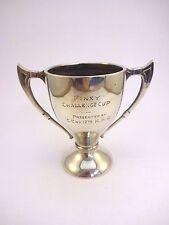 Silver Finey Challenge Trophy Cup H/M Birmingham 1937-38