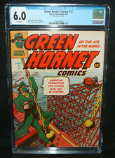 Green Hornet Comics #12 - American Production for Victory - CGC Grade 6.0 - 1943