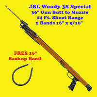JBL Woody 38 Special Speargun Spear Gun Fish Scuba Skin Free Dive Snorkel Shoot