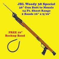 JBL Woody 38 Special Speargun Spear Gun Fish Scuba Skin Free Dive Snorkel Shoot